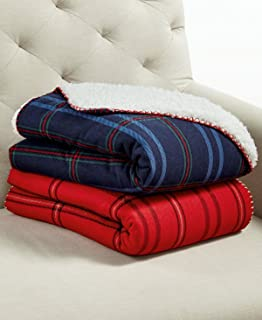 Best martha stewart collection reversible cable knit throw Reviews