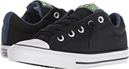 aae5042e68d3c3 Black Mason Blue White. 39. Converse Kids. Chuck Taylor All Star Street  Slip (Little Kid Big ...