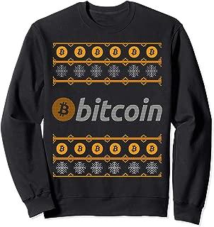 Bitcoin Crypto Cryptocurrencies Christmas Sweatshirt Gift