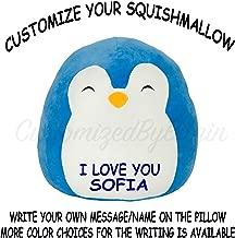 Squishmallow Customized Original Kellytoy Puff The Blue Penguin 16