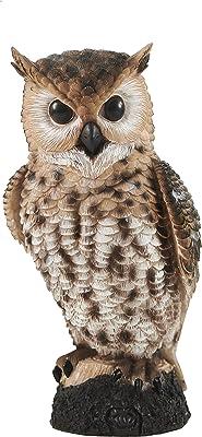 Resin Garden Owl Statue, Fake Owl, Garden Owl, Fake Owls, Garden Decor, Backyard Decor, Owl Decor