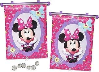 TBLHM Minnie und Mickey Mouse Auto-R/ücksitz-Organizer 2 Packungen Auto Van Sitz R/ücksitz-Organizer mit Tablet-Halterung R/ückenlehnenschutz Kinder-Kick-Matte