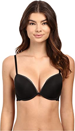 Calvin Klein Underwear Seductive Comfort Add a Size Push-Up Bra