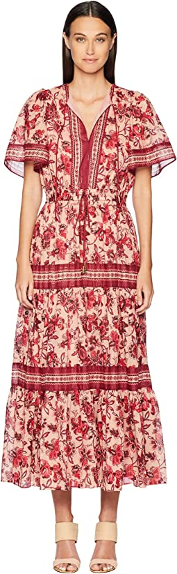 Paisley Blossom Patio Dress