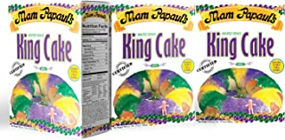 Mam Papaul's King Cake Mix with Praline Filling 3 Pack