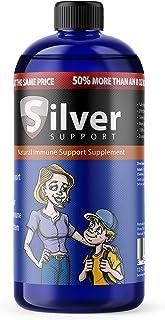 Nano Ionic Silver Technology Liquid Immune Booster for Kids, Pets & Adults Enhances..