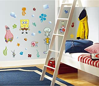 RoomMates Spongebob Squarepants Peel and Stick Wall Decals - RMK1380SCS