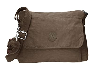 Kipling Aisling Crossbody Bag (Soft Earthy Beige) Handbags