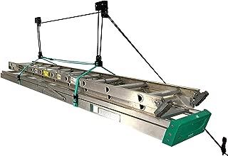 StoreYourBoard Ladder Ceiling Storage Hoist, Hi Lift Home and Garage Pulley Rack, Pro