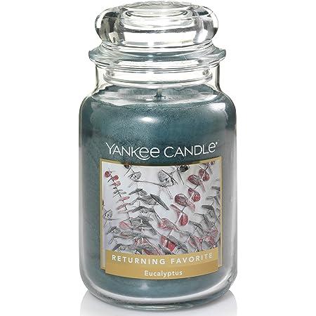 Yankee Candle Eucalyptus Scented Large Jar