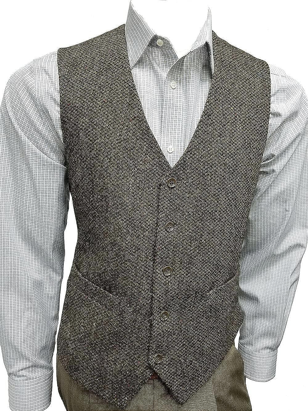 Jean-Paul Germain Irish Tweed Chase Vest