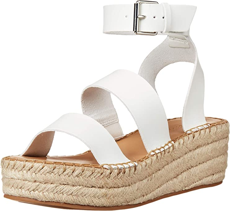 The Drop Women's Listilla Espadrille Flatform Ankle Strap Sandal Wedge