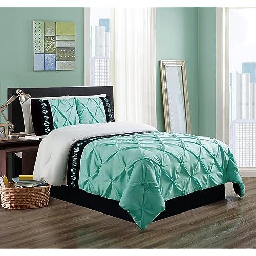 Turquoise and Black Bedding: Amazon.com
