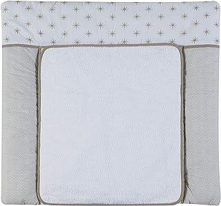 PMP Set de Matelas /à Langer en PVC Housse Taupe 50 x 75 cm