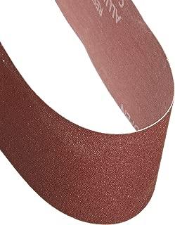 Aluminum Oxide A 21 Length x 3 Width PFERD Inc. 40 Grit PFERD 49211 Portable Abrasive Belt 21 Length x 3 Width Pack of 10