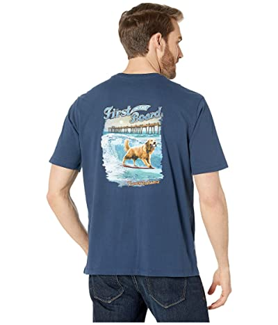 Tommy Bahama First On The Board Tee (Navy) Men