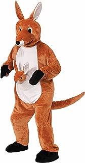 Women's Jumpin Jenny The Kangaroo Plush Mascot Costume