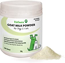 Vetnex Goat Milk Powder (Australia/New Zealand Origin) for Dogs and Cats 250g