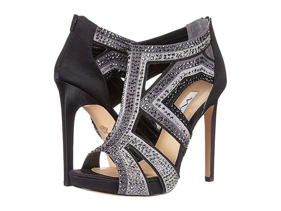 Nina Flavor (Black/Steel/Royal) High Heels