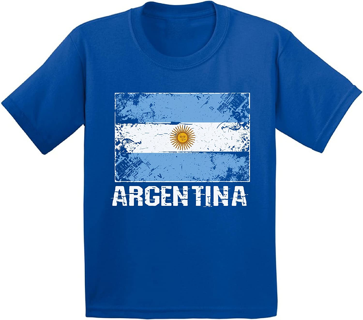 Awkward Styles Argentina Shirts for Youth Argentina Flag T-Shirt Argentina Gifts
