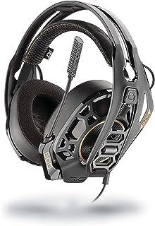 Plantronics 211220-05 - HC Binaural Diadema Auriculares con Micrófono, Negro - Compatible con PS5 y XBX