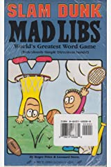 Slam Dunk Mad Libs/Off-The-Wall Mad Libs (2-Pack) Paperback