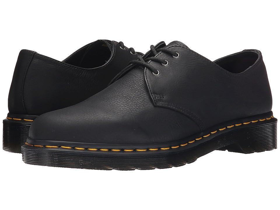 Dr. Martens 1461 3-Eye Shoe Soft Leather (Black Carpathian) Men
