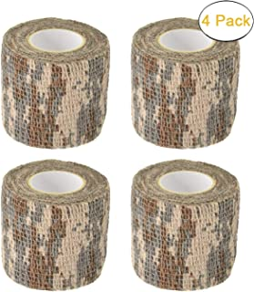 Camo Gun Wrap Tape Rifle Shotgun Camouflage Form Wrap Military Army Hunting Self-Adhesive Protective Multi-Functional Bandage for Rifles,Flashlights,Scope,Knife,Bicycle