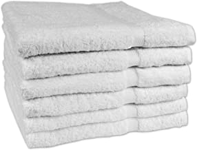 Texrise Premium Collection Laguna Series Hotel and Spa Luxury Bath Towels 600 GSM 27 x 50 inches 6 Pack