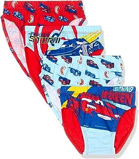 Disney Cars Boys Underwear Brief (4 Pack)