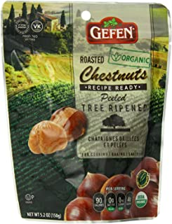 Gefen Whole Chestnuts, Roasted & Peeled , 5.2-Ounces (Pack of 10)