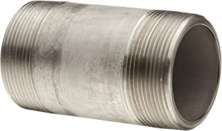 Stainless Steel 316/316L Pipe Fitting, Nipple, Schedule 80, Seamless Extra Heavy, 2