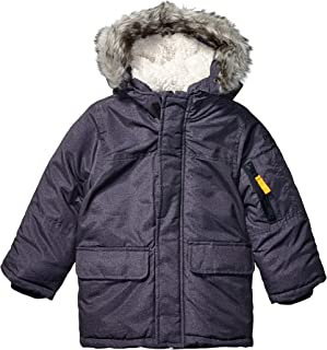 OshKosh B'Gosh Boys' Heavyweight Winter Jacket with Hood Trim