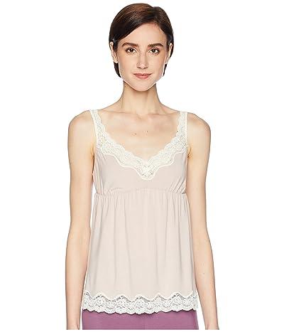 Eberjey New Lady Godiva Cami (Pink Clay/Off-White) Women