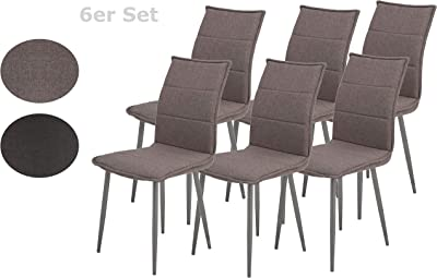 TecTake Set de sillas de Comedor 41x45x98,5cm cantidades ...