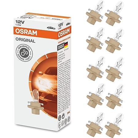 Osram 2452mfx6 Original Leiterplatteneinbau Sockel Bx8 4d 12v 1 5w 1 Lampe Auto