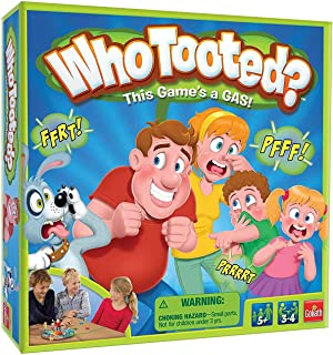 Goliath Games Who Tooted? The, Um, Fart Board Game for The Whole Family, Multicolor