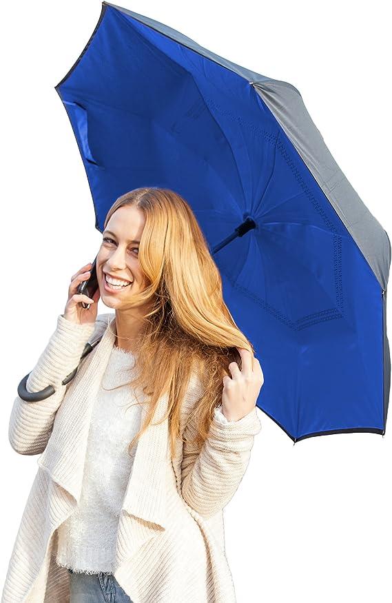 Multicolour Black Brand New Suprella Pro Umbrella Blue