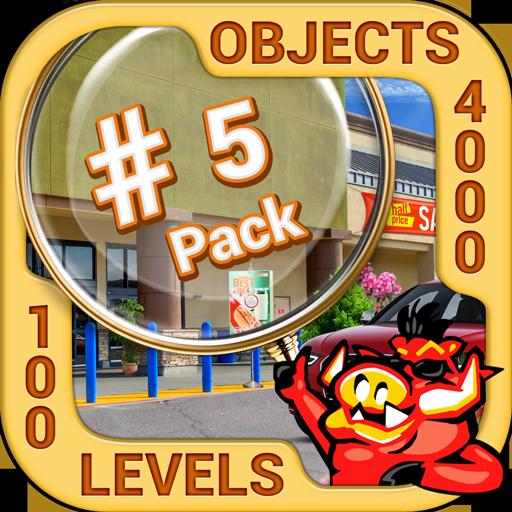 Pack 5 - 10 in 1 Hidden Object Games by PlayHOG