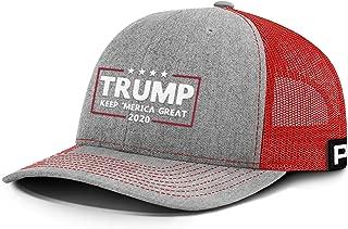 Printed Kicks Trump KAG 2020 Keep Merica Great Back Mesh Hat