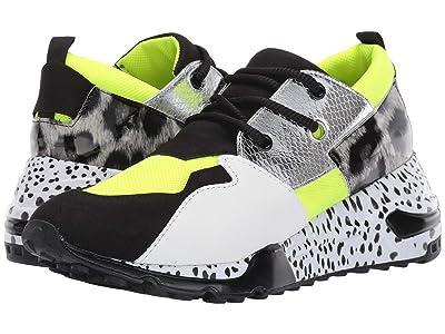 Steve Madden Cliff Sneaker (Neon Green 2) Women