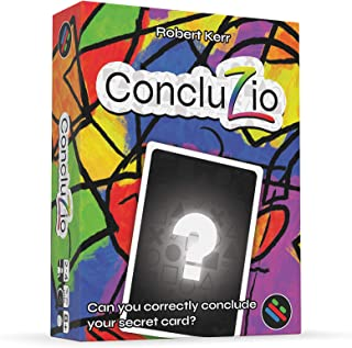 Concluzio - A Deduction Card Game by Puzzling Pixel Games - Great Card Game for Families - Card Game for Adults - Family Friendly Card Game - Great Game for Homeschool Kids