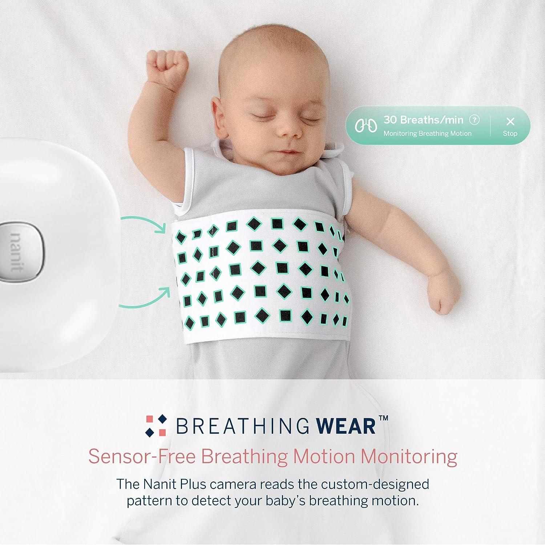 Nanit Breathing Wear Sleeping Bag 1pk, Size Large 12-24 Months - Pebble Grey