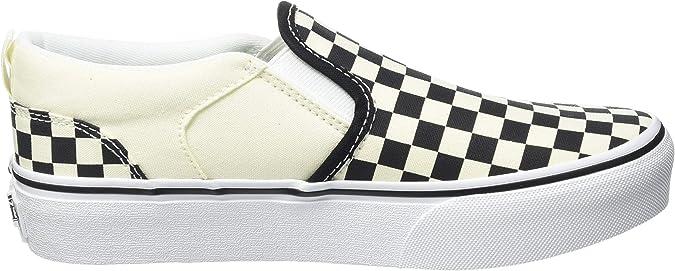Amazon.com: Vans Asher - Zapatillas de deporte unisex para niños ...