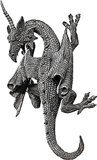 polyr/ésine 45.75 cm palette compl/ète de couleur Design Toscano Cr/âne et Cornes de B/élier Corse Sculpture Murale Faux Taxidermie Animal