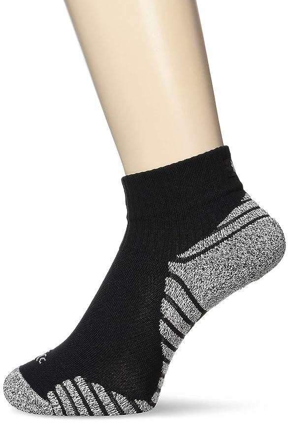ビュッフェ気まぐれな筋[シースリーフィット] 靴下 グリップパイルショートソックス