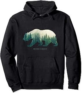 Preserve & Protect Hoodie Vintage National Park Bear Gift