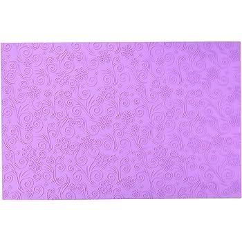 "Wilton Floral Fantasy Fondant Imprint Mat NEW 20 x 20/""  409-415 Cake Decorating"