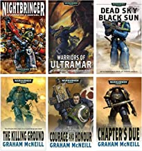 Warhammer 40,000 [40K] - Ultramarines Space Marines Series (Vol. 1-6): Nightbringer, Warriors of Ultramar, Dead Sky Black Sun, The Killing Ground, Courage and Honour and The Chapter's Due