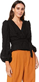 Finders Keepers Women's Sofia LS TOP